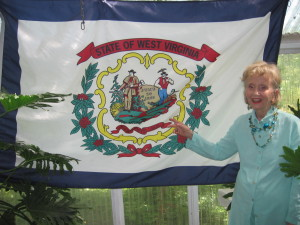 pix of hh with west virginia flag 2013