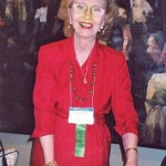 Dr. Helen Harkness at the World Future Society in 2003
